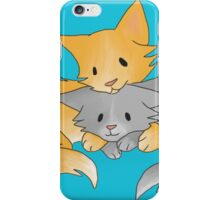 Cuddling Kittens iPhone Case/Skin