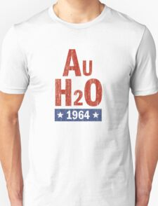Barry Goldwater 'AuH2O' 1964 Presidential Campaign Unisex T-Shirt