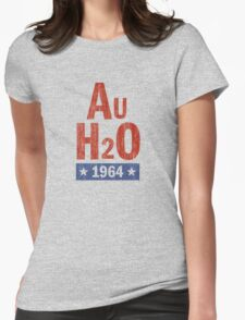 Barry Goldwater 'AuH2O' 1964 Presidential Campaign Womens Fitted T-Shirt