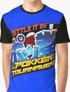 Settle It In Pokken Tournament! Graphic T-Shirt