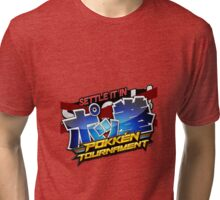 Settle It In Pokken Tournament! Tri-blend T-Shirt