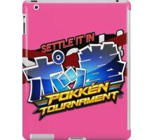 Settle It In Pokken Tournament! iPad Case/Skin