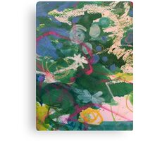 Secret Springtime Maps #4 Canvas Print