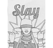 Formation SLAY Photographic Print