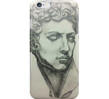 Michelangelo's David Drawing iPhone Case/Skin