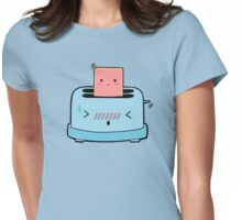 Poptart and toaster Womens Fitted T-Shirt