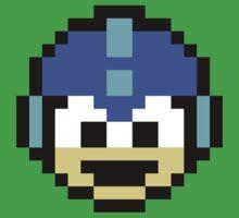 Megaman Head Baby Tee