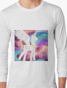 Celestia Oil Paint Long Sleeve T-Shirt