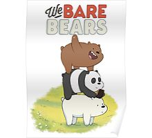 We bare shirt Poster