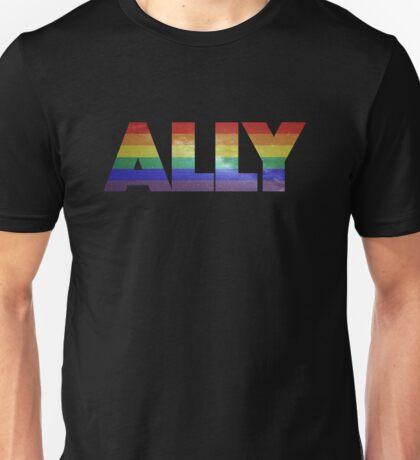 Ally Galaxy Unisex T-Shirt