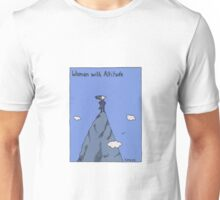 Woman with Altitude - Full colour Unisex T-Shirt