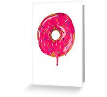 Drippy Donut Greeting Card