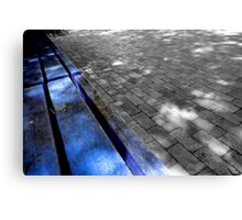 blue edge Canvas Print