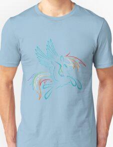 Rainbow Dash Abstract 3 T-Shirt