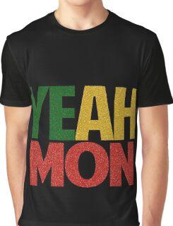 Yeah Mon! Jamaican Slang Graphic T-Shirt