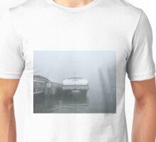 San Francisco Ferry in Fog Unisex T-Shirt