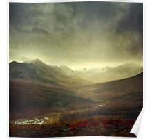 North Klondike River Valley after a storm Poster