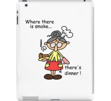 Humorous Burn Dinner iPad Case/Skin