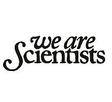 We Are Scientists Logo Photographic Print