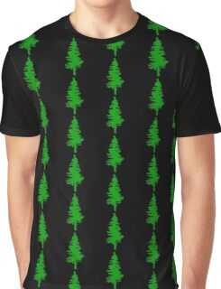 Plain Green Tree | Doug Fir/Pine/Evergreen Graphic T-Shirt
