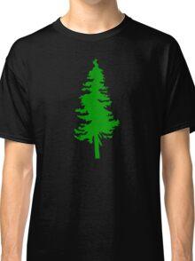 Plain Green Tree | Doug Fir/Pine/Evergreen Classic T-Shirt