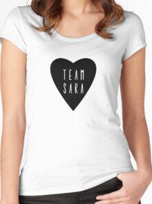 Team Sara  Women's Fitted Scoop T-Shirt