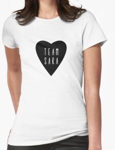 Team Sara  Womens Fitted T-Shirt