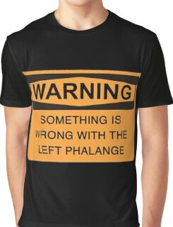 left phalange c Graphic T-Shirt