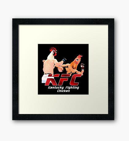 Kentucky Fighting Chicken Framed Print