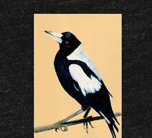 Australian Magpie in Coloured Pencil Tri-blend T-Shirt