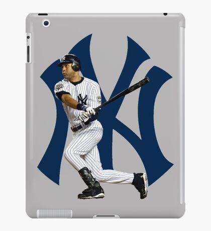 Baseball bat derek jetter iPad Case/Skin