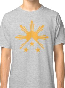 Tribal Philippines Filipino Sun and Stars Flag Classic T-Shirt