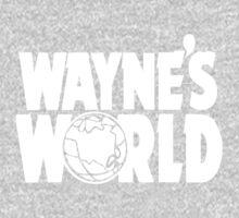 Wayne's World (HD vector graphic) Kids Tee