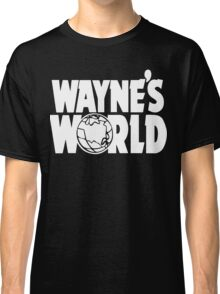 Wayne's World (HD vector graphic) Classic T-Shirt