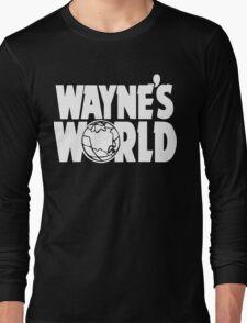 Wayne's World (HD vector graphic) Long Sleeve T-Shirt