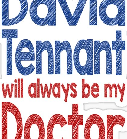 Dr. David Tennant Sticker