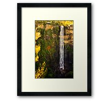 Kangaroo Valley, Australia - Waterfall Framed Print