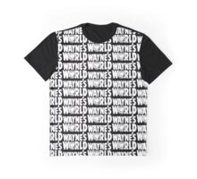 Wayne's World GRAPHIC PATTERN Graphic T-Shirt