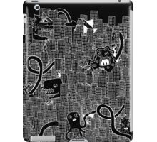 more destroy! (in white!) iPad Case/Skin