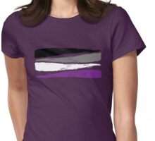 Asexual Pride Womens Fitted T-Shirt
