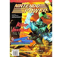 Nintendo Power - Volume 76 Photographic Print