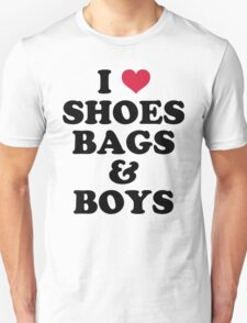 Shoes, Bags & Boys Funny Quote T-Shirt