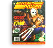 Nintendo Power - Volume 51 Canvas Print