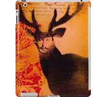 Vintage tag 11 Hunter iPad Case/Skin