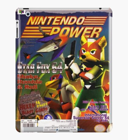 Nintendo Power - Volume 98 iPad Case/Skin