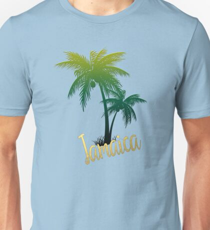 Palm Tree Jamaica Unisex T-Shirt