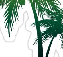 Palm Tree Jamaica Sticker