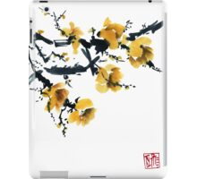 Yellow plum tree iPad Case/Skin