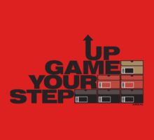 Step Your Game Up Sneakerhead by AiReal Apparel Baby Tee