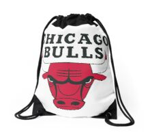 Chicago bull team Drawstring Bag